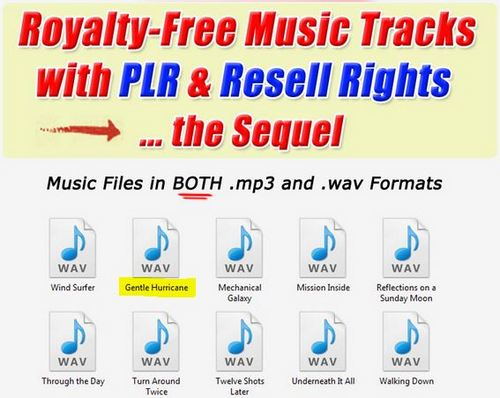 Product picture 1 Professional Quality Music tracks -Gentle Hurricane.wav