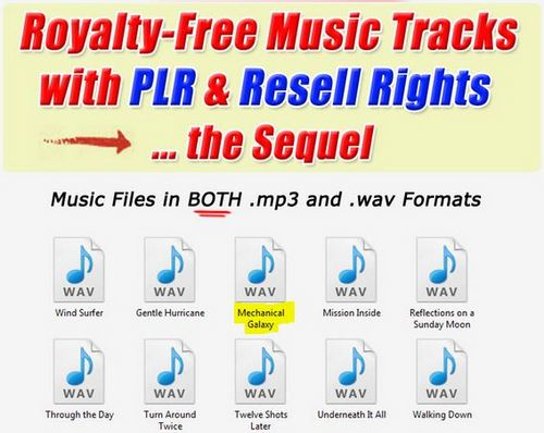 Product picture 1 Professional Quality Music tracks -Mechanical Galaxy.wav