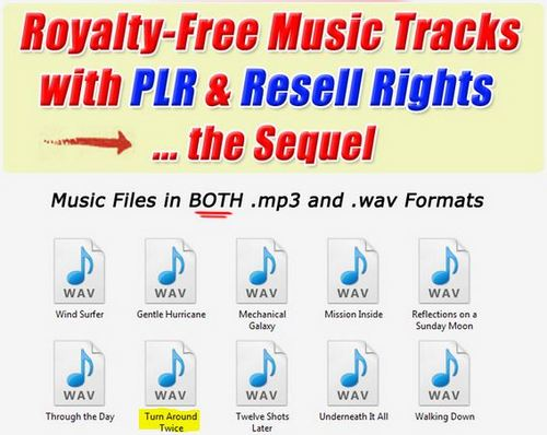 Product picture 1 Professional Quality Music tracks -Turn Around Twice.wav