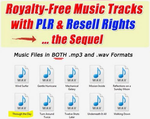 Product picture 1 Professional Quality Music Tracks  Through the day.wav