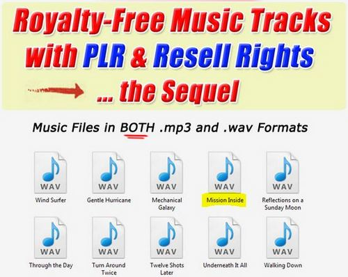 Product picture 1 Professional Quality Music Tracks -.Mission Inside.wav