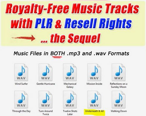 Product picture 1 Professional Quality Music tracks -Underneath it all.wav